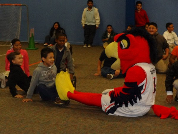 Eagles Fly High With Harry Hawk School Instruction