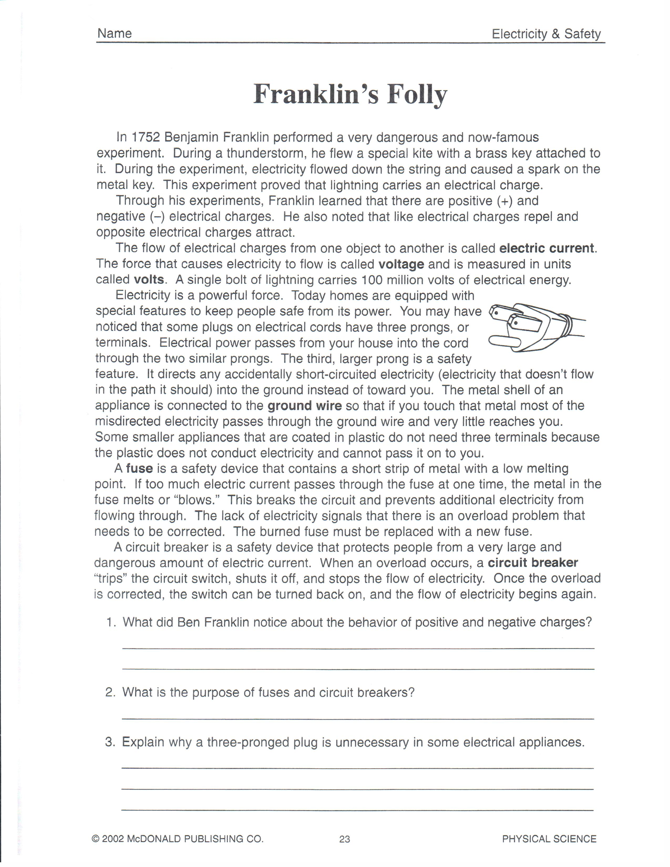 Worksheet Physical Science Worksheet Answers Grass Fedjp Worksheet Study Site