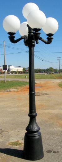Cast Aluminum: Cast Aluminum Lamp Posts