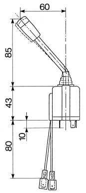 TOGGLE SWITCHES DIRECTION LIGHTS TOGGLE SWITCH HIGH BEAM