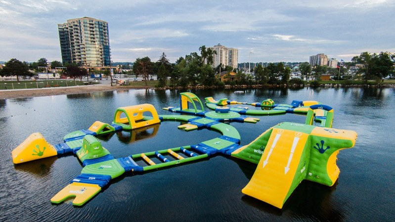 Floating Playground - in Barrie