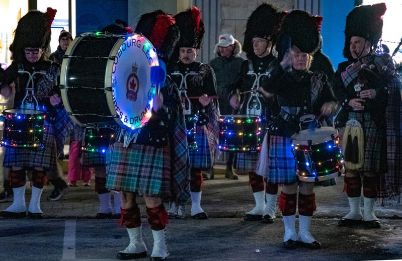 Cobourg Legion Pipe Band - photo by Rick Miller