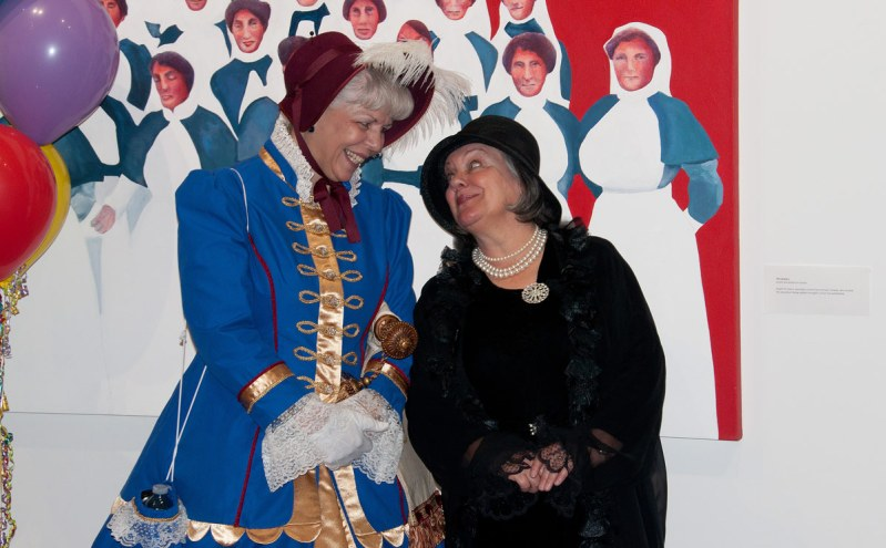 Town Crier - Mandy Robinson and Carlotta Rutledge as Marie Dressler