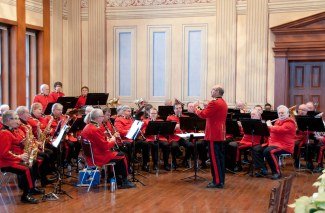 Concert Band at Levee