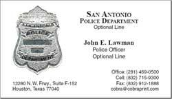 Cobra Printing & Productions: San Antonio Business Cards