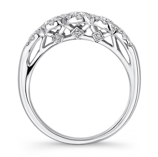 Halo I Carat Diamond Five Stone Ring