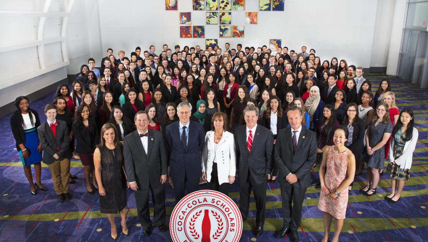 Our 2017 Coke Scholars  CocaCola Scholars Foundation