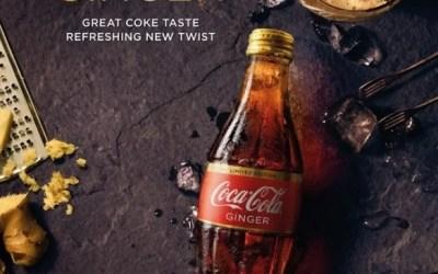 Le Coca-Cola au gingembre arrive en Australie