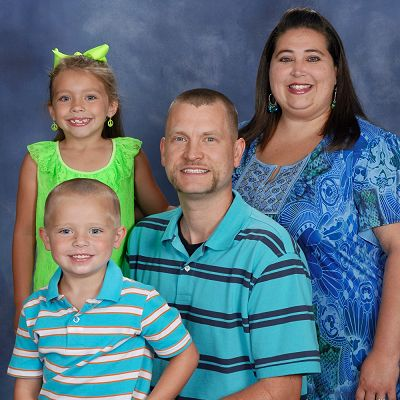 Matt Stalcup and family