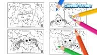 Disegni da colorare Halloween con i personaggi Coccole Sonore!
