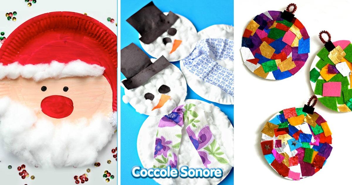 Seleziona una categoria a tuo piacere. Lavoretti Di Natale Per Bambini Realizzati Con Piatti Di Carta