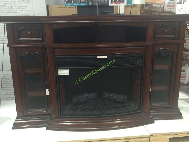 Ember Hearth Electric Fireplace 70 Media Console  CostcoChaser