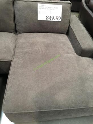 Fabric Sectional With Storage Ottoman Costcochaser