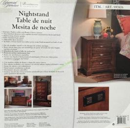 Universal Furniture Broadmoore Nightstand Costcochaser