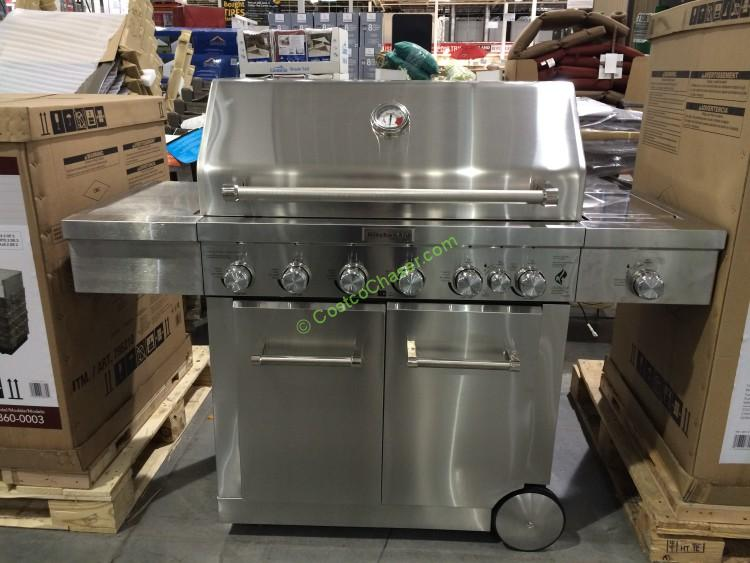 KitchenAid 8burner Grill LPNGM7200856V  CostcoChaser