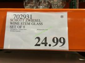 d8a30911258 Schott Zwiesel Wine Stem Glass Set of 8 – CostcoChaser