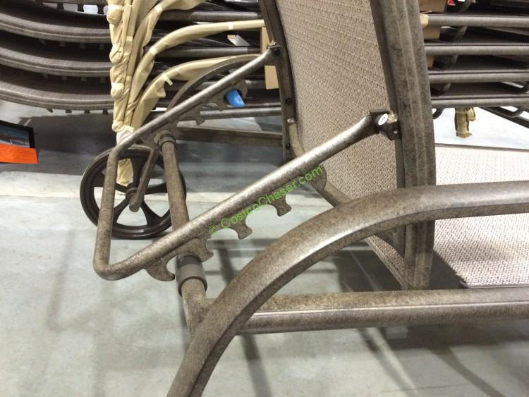 costco furniture chairs high back arm chair sunvilla international sling chaise lounge – costcochaser