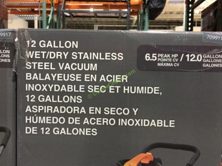 Kubota Wet Dry Vacuum 12 Gallons Costcochaser