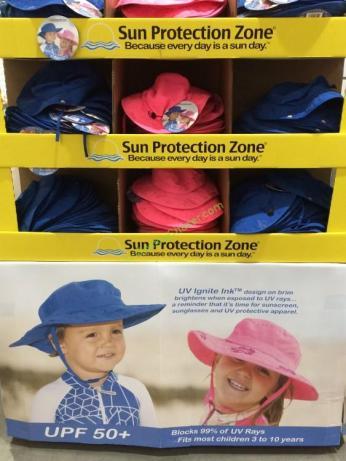 11a97408b0532 Sun Protection Zone Kids Safari Hat – CostcoChaser