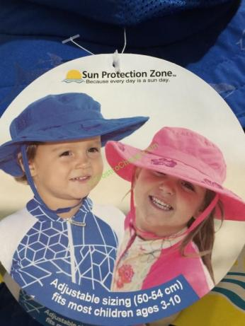 4bcb2ec2e58c9 Sun Protection Zone Kids Safari Hat – CostcoChaser