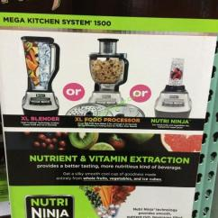 Ninja Mega Kitchen 1500 Home Depot Door Hardware System With Slicing Shredding Model Bl773co Costco 983930 Face1