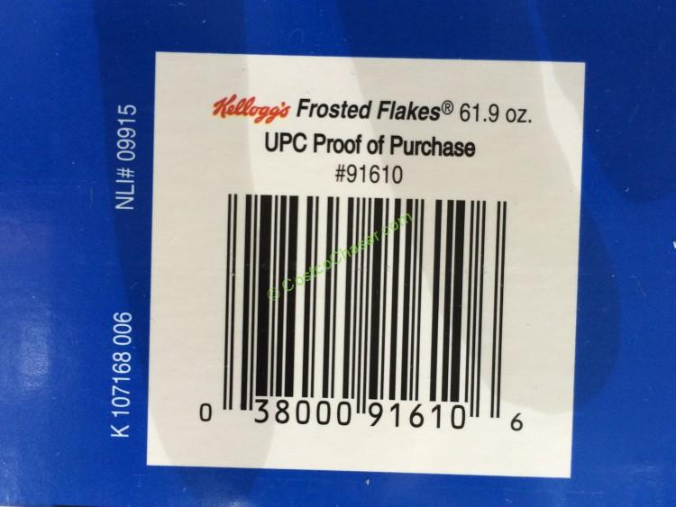 Kelloggs Frosted Flakes 619 Ounce box  CostcoChaser
