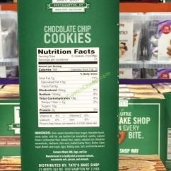 Costco Kitchen Island Knives Reviews Tate's Bake Shop Chocolate Chip Cookies 21 Ounce Box ...