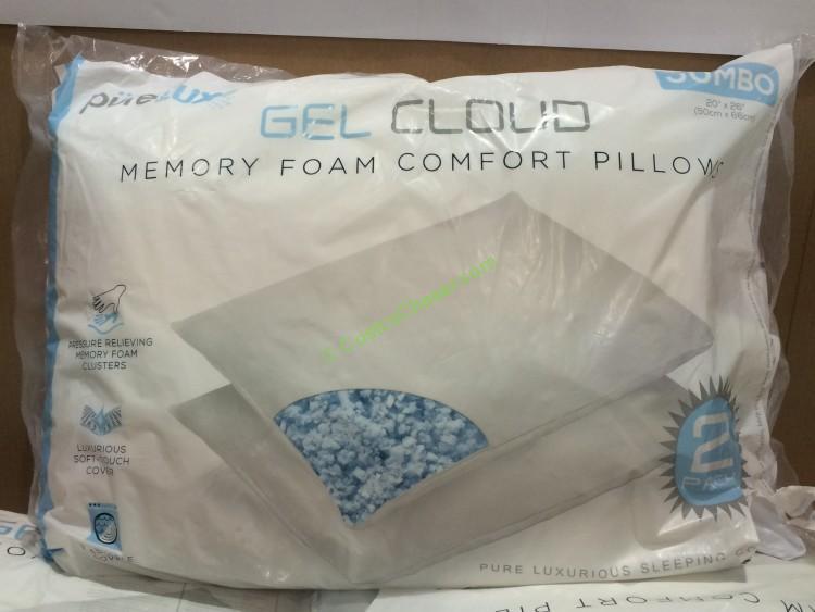 purelux gel cloud memory foam cluster