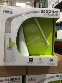 Intek Led Desk Lamp with Bladeless Fan Model# SL9066-2 ...
