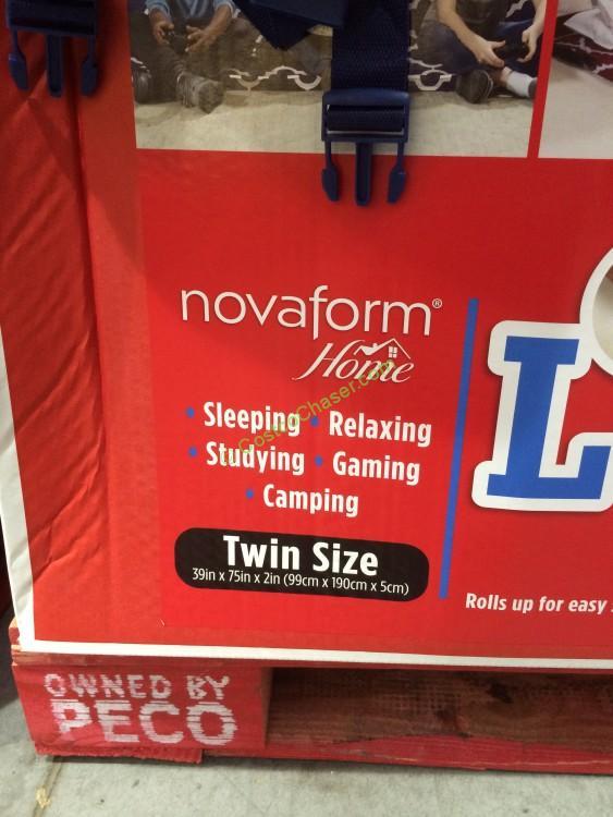 Novaform Home RollOut Memory Foam Lounger  CostcoChaser