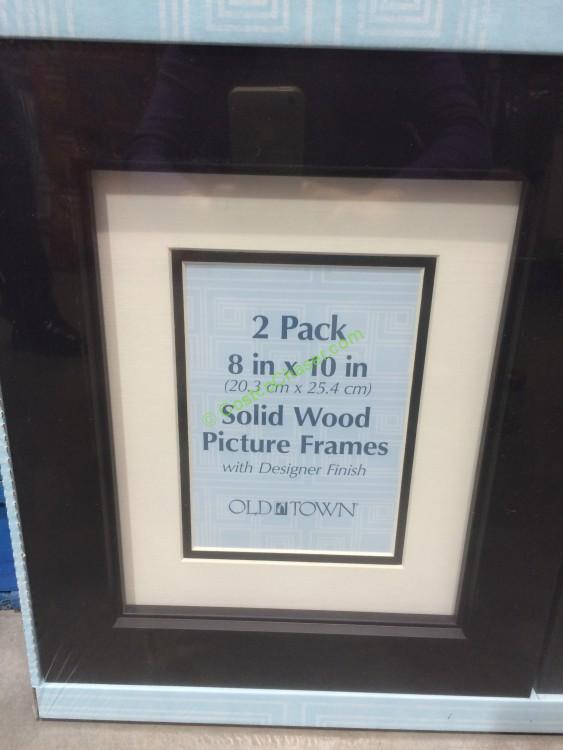 Old Town 8 X 10 Designer Wood Frames 2 Pack Model 26931
