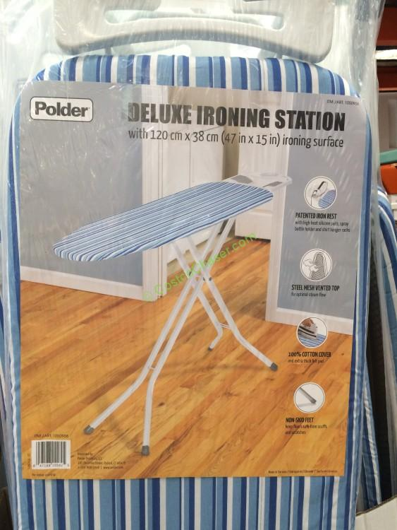 Polder Ironing Board with Additional Pad  Cover