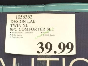 Design Lab Twin Xl 8pc Comfort Set Costcochaser