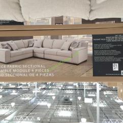 8 Piece Leather Sectional Sofa Trundle Bed Philippines Bainbridge 4pc Fabric Model# Cou4254a-29-4pcset ...