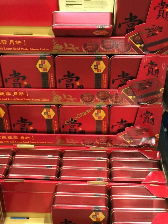 Joy Luck Palace Double Yolk Mooncakes 2469 Ounce Tin