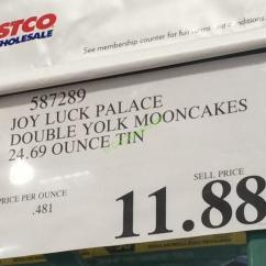 Costco Kitchen Island Bench For Table Joy Luck Palace Double Yolk Mooncakes 24.69 Ounce Tin ...