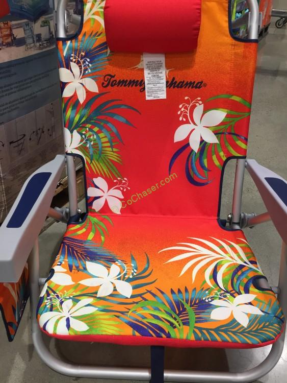 tommy bahamas beach chair captains boat seats bahama backpack costcochaser costco 639670 red