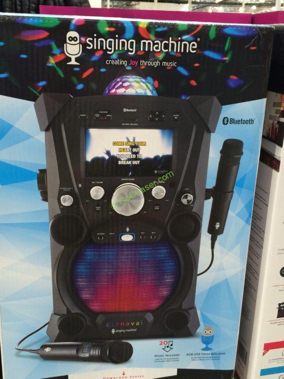Singing Machine SDL 9035 Portable Karaoke Machine