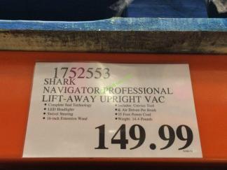 Costco-1752553-Shark-Navigator-Professional-Lift-Away-Upright-VAC-tag