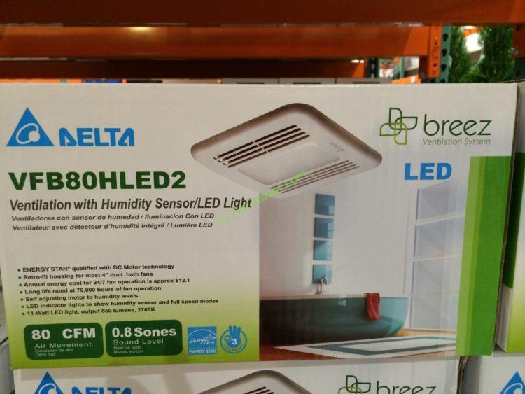 delta breez vfb80hled2 ventilation bath