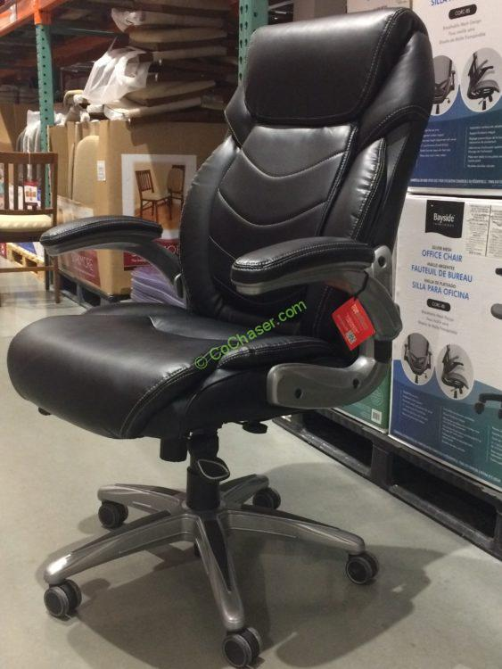 true innovations office chair small rocking active lumbar costcochaser