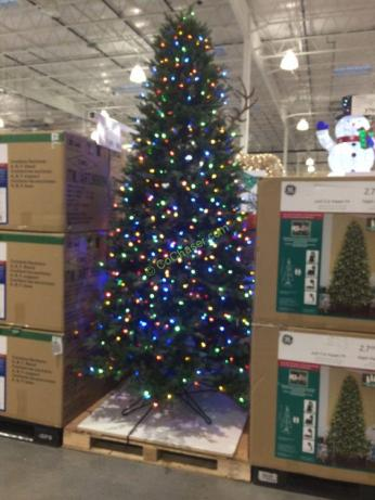 Costco-999095-GE-9FTPre-LitLED-Dual-Color-Christmas-Tree