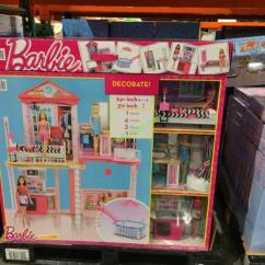 Costco Kitchen Play Set Fan Barbie House & Pool Giftset With 3 Dolls – Costcochaser