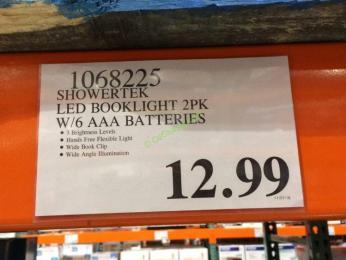 Costco-1068225- Showertek-LED-Booklight-2PK-tag
