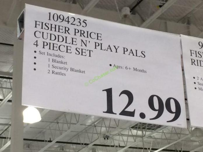 Costco-1094235-Fisher-Price-Cuddle-N-Play-Pals-tag