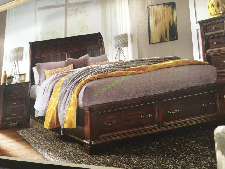 Universal Broadmoore Storage Bed Queen or King  CostcoChaser