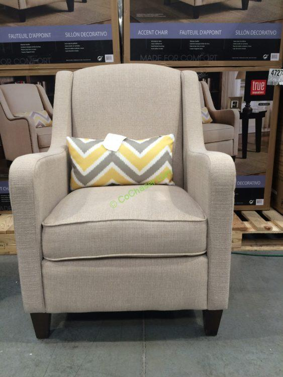 True Innovations Fabric Accent Chair  CostcoChaser