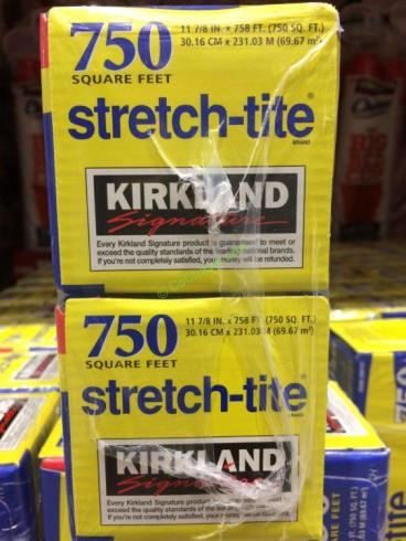 Kirkland Signature Stretch-Tite 12″ Premium Plastic Food Wrap 2-pack