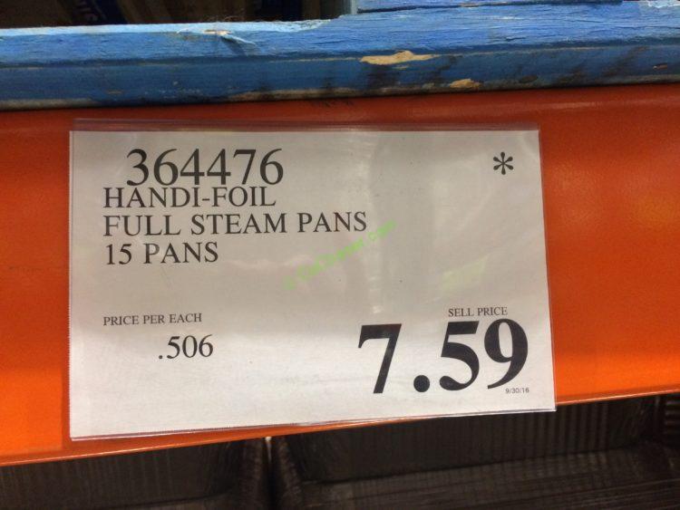 ECOFoil Full Size Deep Steam Table Pans 15 Pans