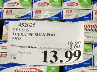 Costco-452625-NEXXUS-Therappe-Shampoo-tag